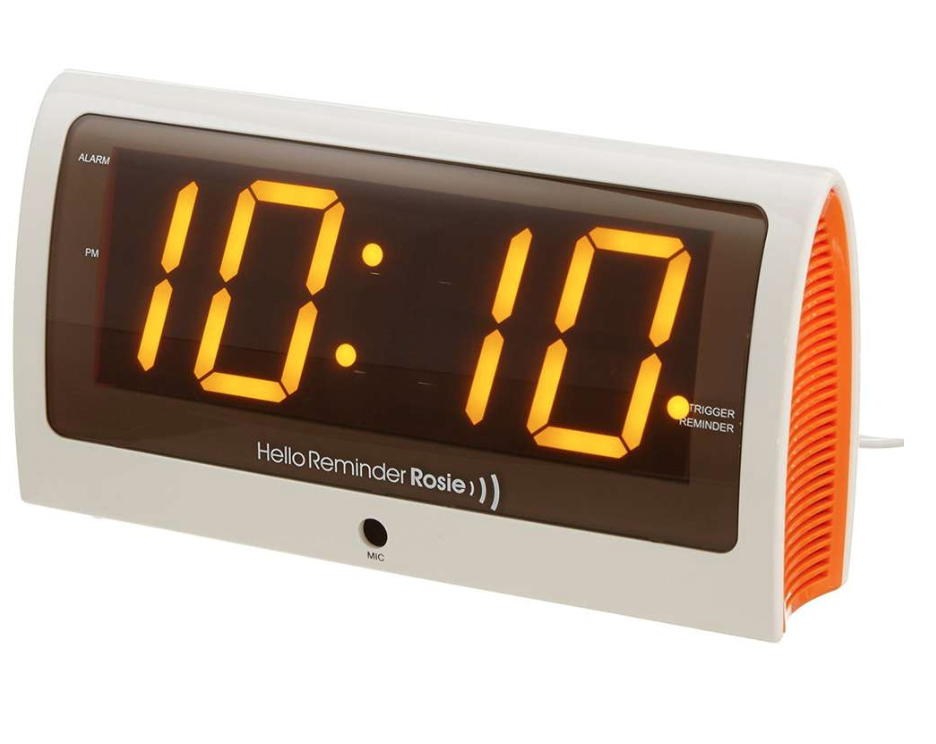 Dementia Clock with Reminders - Voice Activated