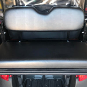 Cool Dry Covers seat covers set to fit a rear seat kit for your golf cart.