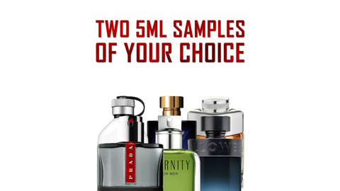 Receive Two 5ml Samples Of Your Choice Monthly