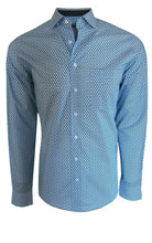 Load image into Gallery viewer, Austin Sport Shirt - Blue Dots