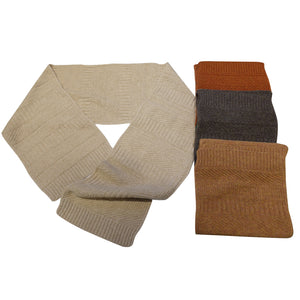 English Wool Scarf - Warm Colors