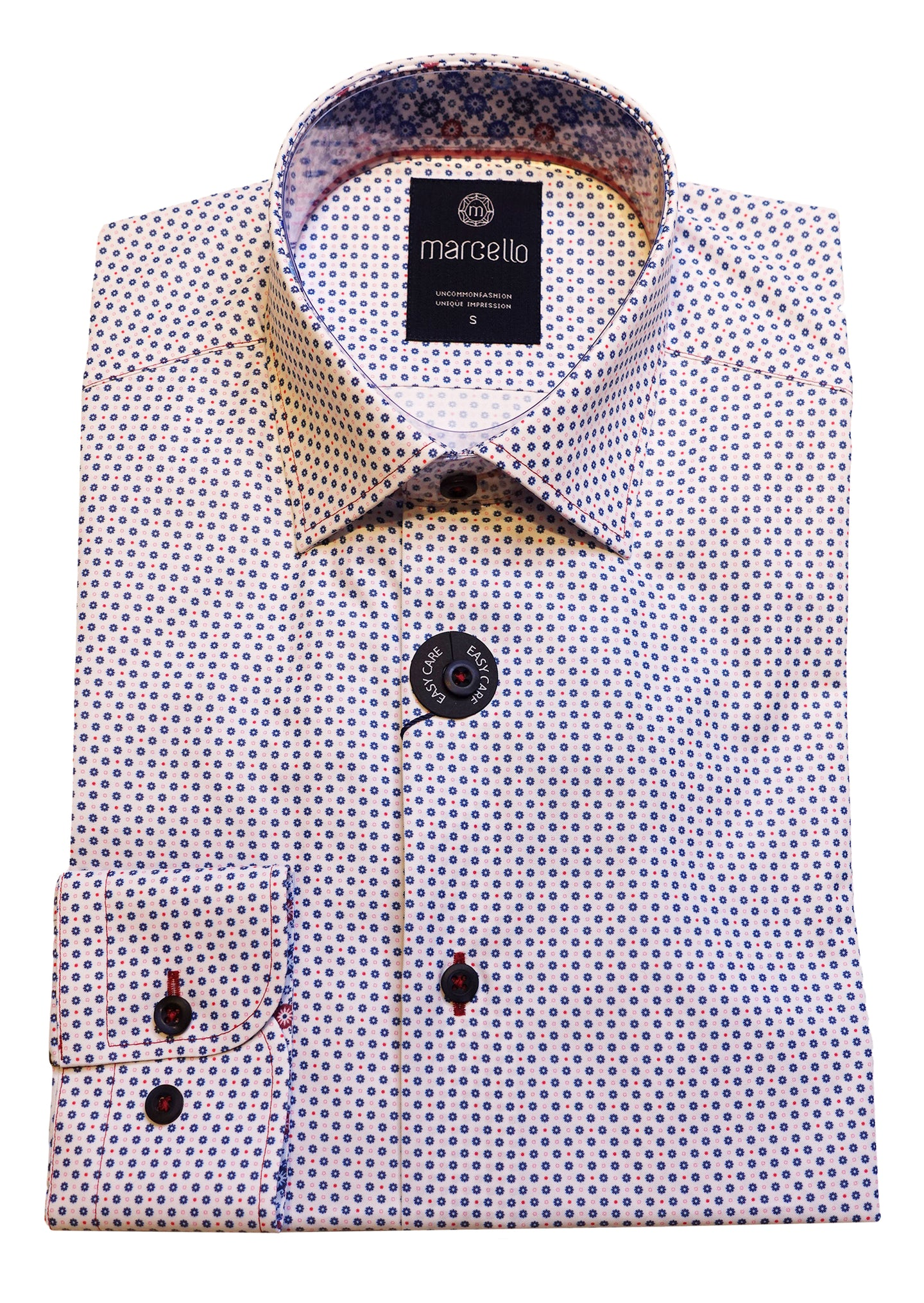 Sport Shirt - Red & Blue Dots
