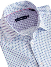 Load image into Gallery viewer, Geometric Sport Shirt - White
