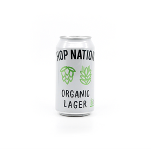 Hop Nation Organic Lager 375Ml