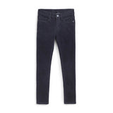 MAYORAL TWEEN BASIC SLIM FIT CORD PANT IN DEEP BLUE