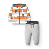 MAYORAL BABY 'PLAY' STRIPE TRACKSUIT