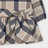 MAYORAL BABY PLAID DRESS