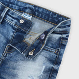 MAYORAL DISTRESSED DENIM PANTS