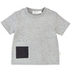 MILES GREY POCKET TEE