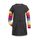 RAINBOW GIRL DRESS