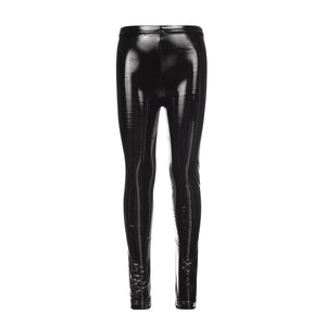 APPAMAN SHINY BLACK TIGHTS