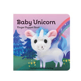 'BABY UNICORN' FINGER PUPPET BOARDBOOK
