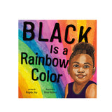 'BLACK IS A RAINBOW COLOUR' BOOK