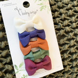 BABY WISP CHARLOTTE BABY BLOGGER 5 PACK HAIR CLIPS