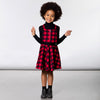 DEUX PAR DEUX PLAID JUMPER SET
