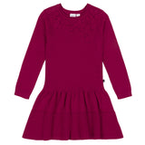 DEUX PAR DEUX KNIT APPLIQUE DRESS