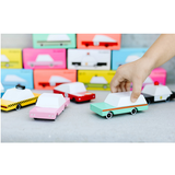 WOODEN TOY CANDYLAB CARS