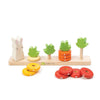 TENDER LEAF COUNTING CARROTS WOOD TOY