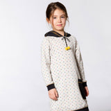 POKADOT TUNIC DRESS  ON A GIRL