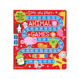SPIN + PLAY ANIMAL GAMES BOOK