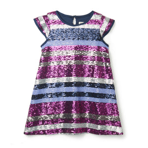 LITTLE GIRL SEQUIN PARTY DRESS