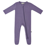 KYTE ZIPPERED FOOTIE ORCHID