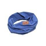 L+P APPAREL MIX BLUE INFINITY SCARF