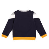 MILES COLOUR BLOCK SWEATER