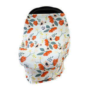 CANADA MADE FLORAL CARSEAT COVER