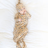 BABY IN CHEETAH OUTFIT