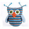 PEBBLE BLUE OWL RATTLE