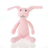 PEBBLE MY FIRST BUNNY PINK RATTLE