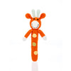 PEBBLE GIRAFFE STICK RATTLE