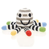 PEBBLE MULTI OCTOPUS RATTLE