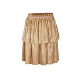 ENFANT PLEADED RUFFLE SKIRT