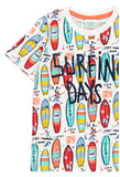 BOBOLI 'SURFING DAYS' GRAPHIC TEE