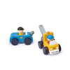 TENDER LEAF TOW TRUCK WOOD TOY