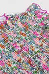 SHADE CRITTERS SMOCKED FLORAL SWIMSUIT SET