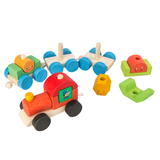 TENDER LEAF HAPPY TRAIN WOOD TOY