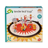 TENDER LEAF CIRCUS STACKER WOOD TOY SET