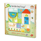 TENDER LEAF GARDEN PATCH WOOD PUZZLE