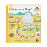 TENDER LEAF GARDEN PATH  WOOD DOMINOS