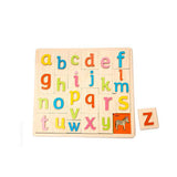 TENDER LEAF ALPHABET PICTURE WOOD PUZZLE