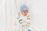 LOULOU LOLLIPOP DINO SWADDLE