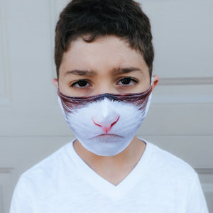 GRUMPY CAT CHILD FACEMASK