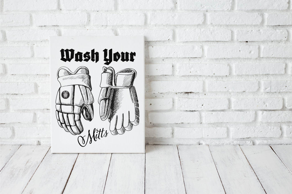 Wash Your Mitts Canvas