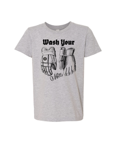Wash Your Mitts Youth Tee
