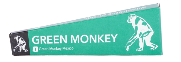 GREEN MONKEY PARTY SIZE 3PK CONES