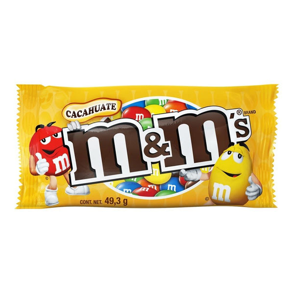 CHOCOLATE M&M CACAHUATE 49GR