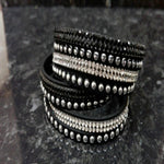 Choker / Wrap Around Diamonte Bracelets